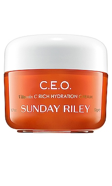 C.E.O. Vitamin C Rich Hydration Cream Sunday Riley $65 BEST SELLER