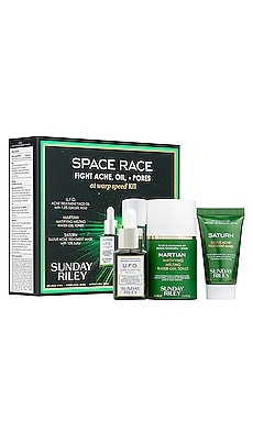 Space Race Fight Acne, Oil, and Pores Kit Sunday Riley $65 BEST SELLER