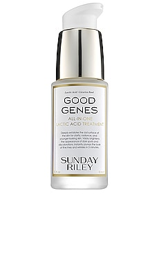 TRAVEL GOOD GENES LACTIC ACID TREATMENT スキンケアトリートメント Sunday Riley $85 ベストセラー