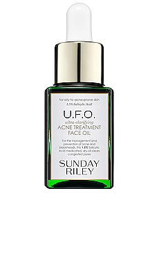 ACEITE DE LA CARA TRAVEL U.F.O. ULTRA-CLARIFYING FACE OIL Sunday Riley $40