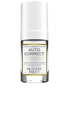 Auto Correct Brightening and Depuffing Eye Contour Cream Sunday Riley $65 BEST SELLER