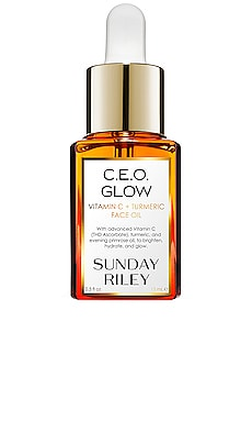 Travel C.E.O. Glow Vitamin C + Turmeric Face Oil Sunday Riley $40 BEST SELLER
