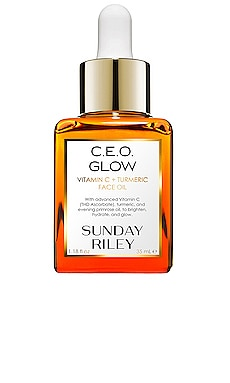 HUILE VISAGE C.E.O. GLOW VITAMIN C + TURMERIC FACE OIL Sunday Riley $80
