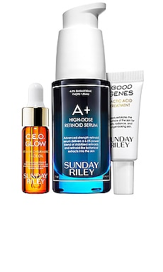 A+ High-Dose Retinoid Serum Limited Edition Kit Sunday Riley $85