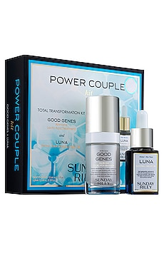 Power Couple Duo Total Transformation Kit Sunday Riley $85 MÁS VENDIDO