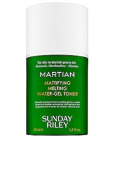 Travel Martian Mattifying Melting Water-Gel Toner Sunday Riley $25