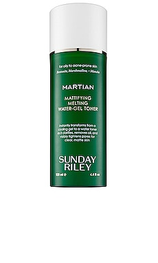 Martian Mattifying Melting Water-Gel Toner Sunday Riley $55