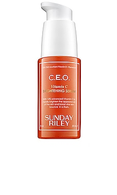 C.E.O. Rapid Flash Brightening Serum Sunday Riley $85