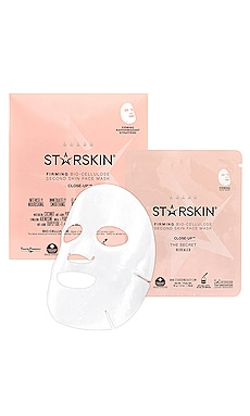 Close-Up Firming Bio-Cellulose Second Skin Face Mask STARSKIN $10 BEST SELLER
