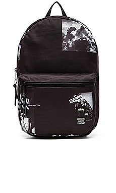 Stussy x Herschel Placement Print Lawson Backpack in Black
