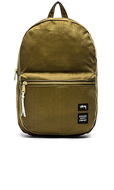 Stussy x Herschel Drab Lawson Backpack in Olive