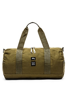 Stussy Drab Duffle in Olive