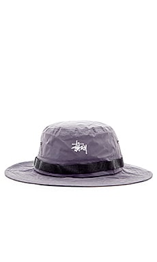 Stussy Reflective Boonie Hat in Black