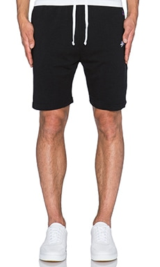 Stussy French Terry Short in Black