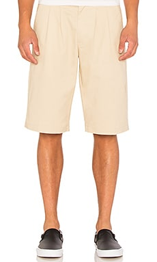 Stussy Pleated Shorts in Khaki
