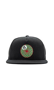 Бейсболка psych eightball - Stussy