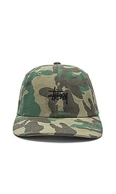 Низкая кепка с камуфляжным принтом - Stussy