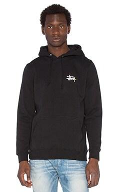 Stussy Basic Logo Hoody in Black