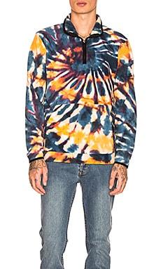 Tie Dye Polar Fleece Mock Stussy $84