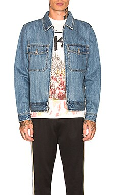 Denim Garage Jacket Stussy $109