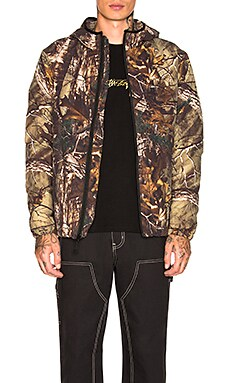 Realtree Insulated Hooded Jacket Stussy $207