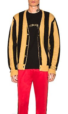 Vertical Stripe Cardigan Stussy $210