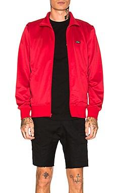 Textured Rib Track Jacket Stussy $46