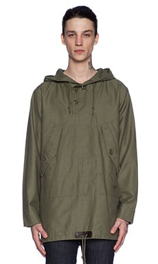 Stussy Military Poncho in Olive