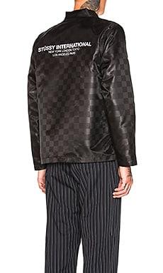 Tonal Check Jacket Stussy $77