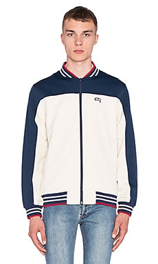 Stussy Track Jacket in Navy