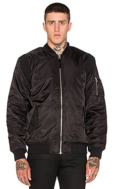 Stussy MA-1 Jacket in Black