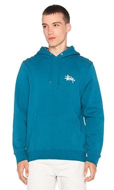 Stussy Basic Logo Hoody in Blue
