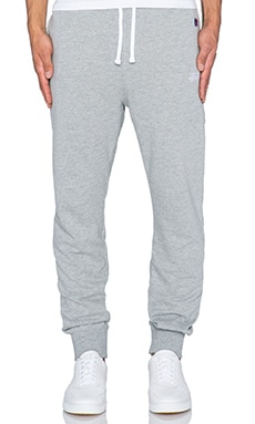 Stussy French Terry Pant in Grey Heather