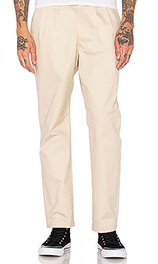 Stussy Pleated Trouser in Khaki