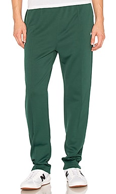 Stussy Poly Track Pant in Forest