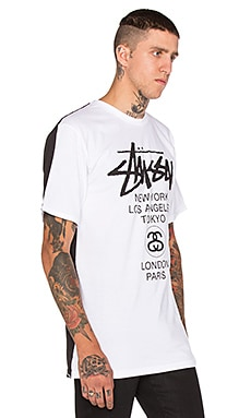 Stussy Diametric WT Tee in White 1