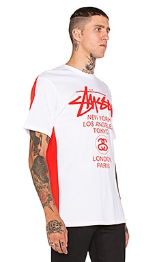 Stussy Diametric WT Tee in White 7