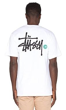 Stussy Basic Logo Tee in White