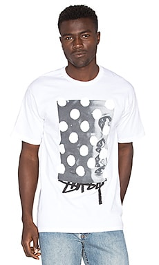 Stussy Eye Dots Tee in White