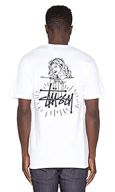 Stussy Marionette Tee in White