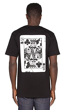 Stussy S Of Clubs Tee in Black