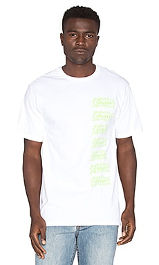 Stussy Pop Tee in White
