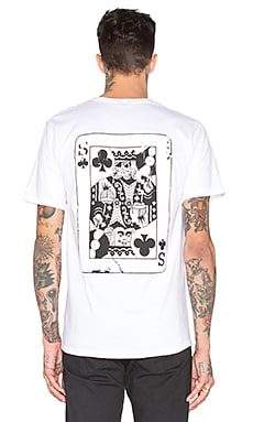 Stussy S Of Clubs Tee in White