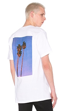 Stussy 3 Palms Tee in White