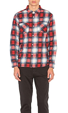Shadow Plaid Button Down
