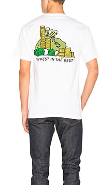 Футболка invest in the best - Stussy 1903961 WHT