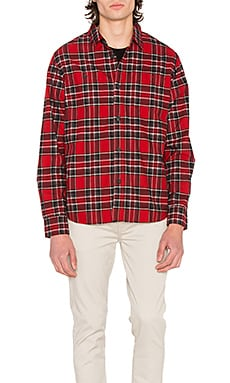 Double Brush Flannel Button Down