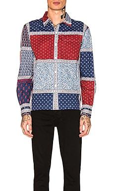 Paisley Patchwork Shirt