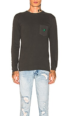 Shaka Long Sleeve Tee Stussy $46