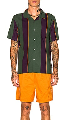 Big Stripe Shirt Stussy $105 NEW ARRIVAL